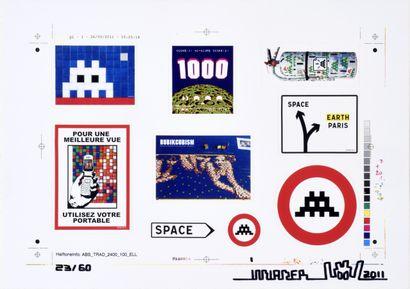 INVADER (Français, né en 1969)