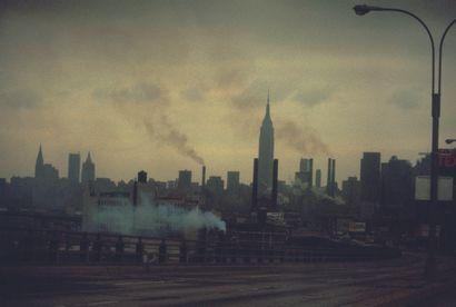 AFP AFP  L'Empire State Building à New York en 1972.  Photographie en couleur, tirage...