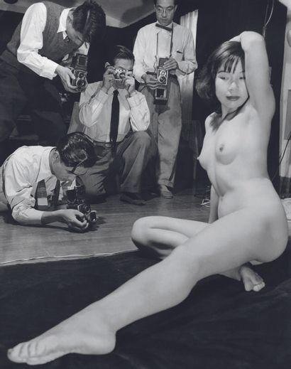 AFP AFP  Dans les années 50, les lois sur l'interdiction de la  prostitution au Japon...