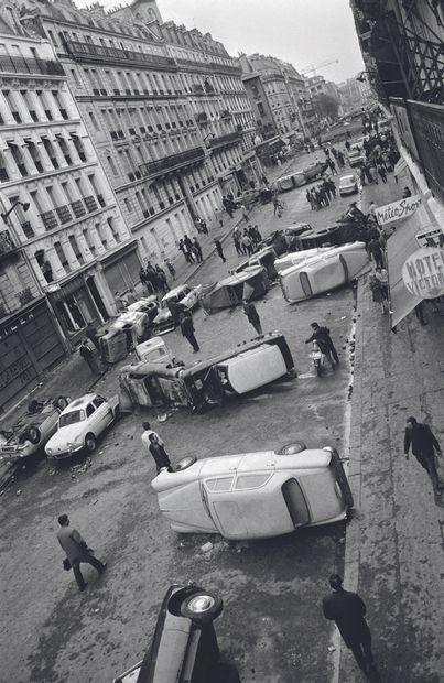 AFP AFP  La rue Gay-Lussac au lendemain du 11 mai 1968  après des affrontements violents...