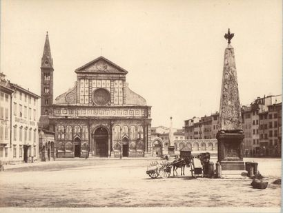 ROME – TOSCANE  Village en bord de mer ; Arc de triomphe ; campagne, Villa d'Este...
