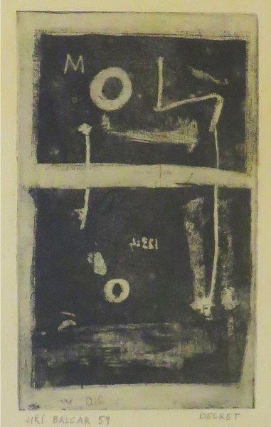 BALCAR Jiri ( 1929-1968)