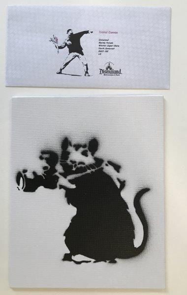 SOUVENIR DE DYSMALAND  Rat photographe  Impression sur toile cartonnée  Print on...