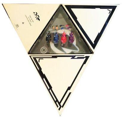 FUTURA 2000 (né en 1955) Eye 4 an Eye ( V.I.P Version) Coffret comprenant un disque...