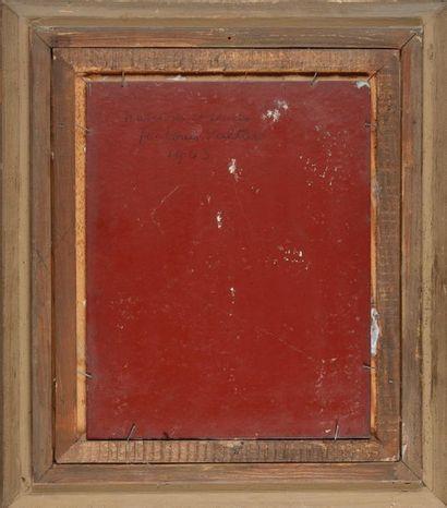 Louis VALTAT (1869-1952) Narcisses et soucis Huile sur panneau Signé en bas à droite,...