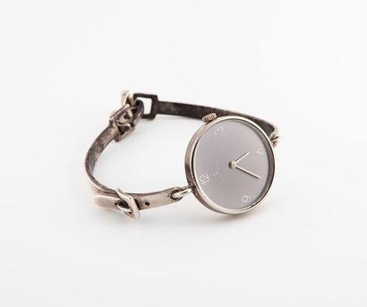 Bracelet montre de dame en argent 925 °/°°,...