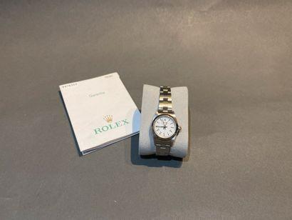 ROLEX. Bracelet montre de dame Oyster Perpetual...