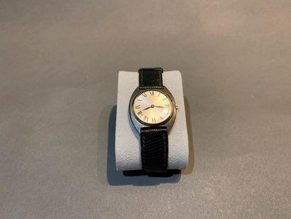 Bracelet montre en or gris 750 °/°°, cadran...