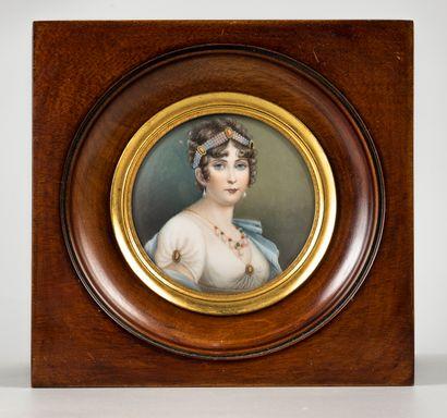 J. LERY  Joséphine  Miniature  Signature...