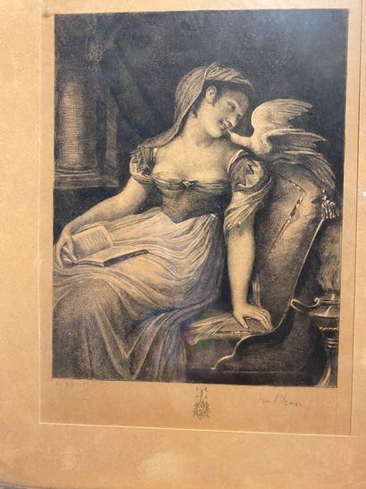 D'après Pierre-Paul PRUD'HON (1758-1823)...