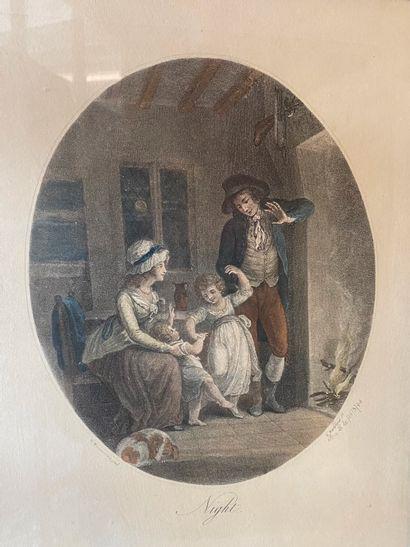 D'après Francesco BARTOLOZZI (1727-1815)...