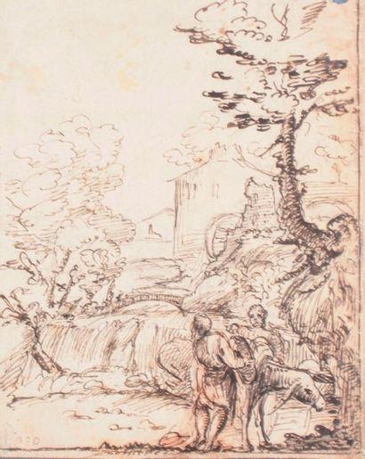 École bolonaise du XVIIe siècle Entourage de Giovanni Francesco BARBIERI dit LE GUERCHIN (Cento, 159