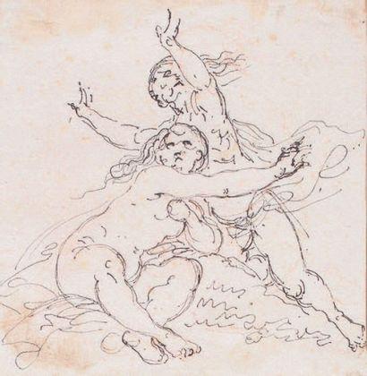 Giuseppe Bernardino BISON (attribué à) (Palmanova, 1762 - Milan, 1844)