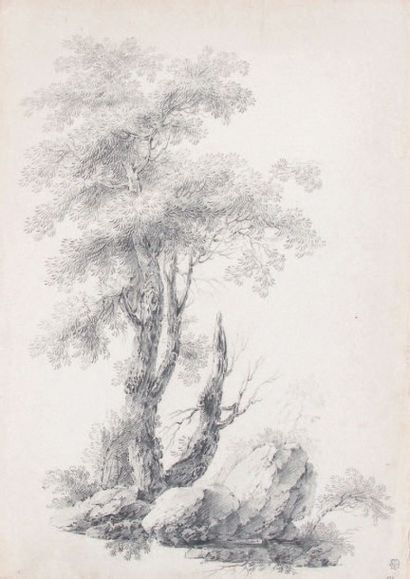 Jacob Philippe HACKERT (attribué à) (Prenzlau, 1737 - San Piero di Careggio, 1807)