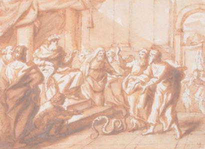 École italienne du XVIIe siècle Entourage de Jacopo Negretti dit PALMA LE JEUNE (Venise, 1544-1628)