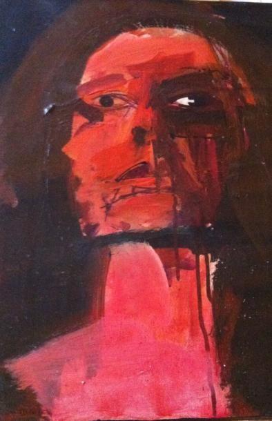 Serge LABEGORRE (Né en 1932) « Véronique...