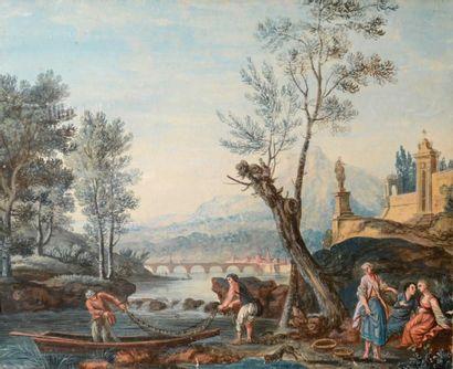 Ecole française vers 1800, suiveur de Joseph...