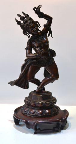 Danseuse en bronze Asie du Sud-Est. Début...