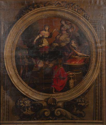 Ecole FRANCAISE vers 1650, entourage d'Isaac...