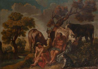 Ecole FLAMANDE vers 1700, suiveur de Jacob...