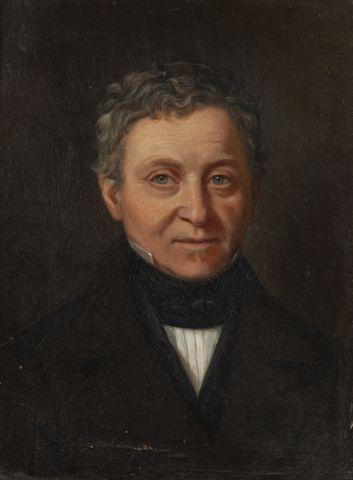Ecole française du XIXe Portrait d'homme...