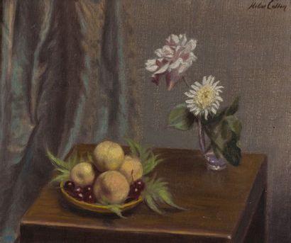 Helier COSSON(1897-1976). Nature morte. Huile...