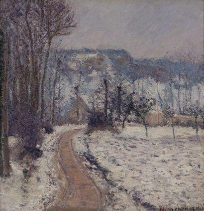 Blanche HOSCHEDE-MONET(1865-1947) Paysage...