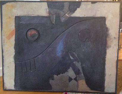 MOHAMMED NABILI (1954). Technique mixte sur...