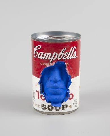 GREGOS (né en 1972) Campbell's bleu Technique...