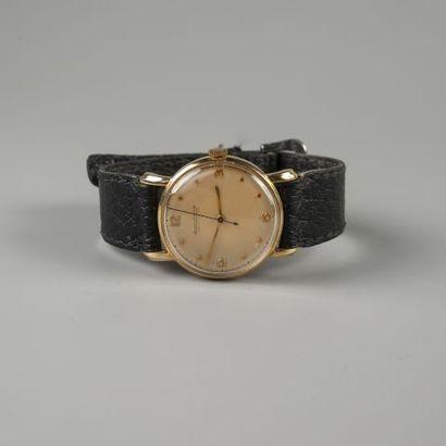 Bracelet montre d'homme Jaeger Lecoultre...
