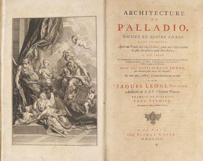 Andrea PALLADIO. Architecture de Palladio...