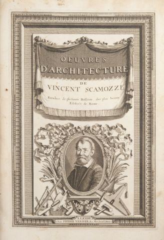 Vincent SCAMOZZI. Oeuvres d'Architecture...