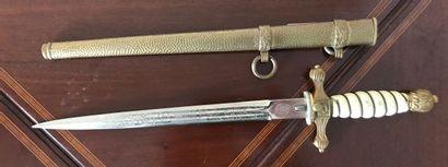Dague d'officier de marine allemande époque...