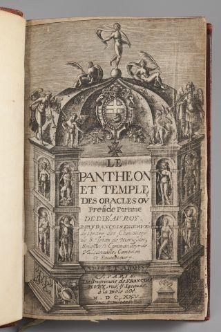 François d'HERVE. Le Panthéon et Temple des...