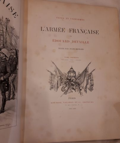 Edouard DETAILLE. L'Armée Française. Types...