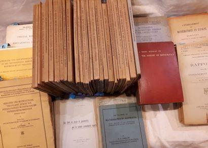 POINSOT. Elemens de statique. 1830. Plein veau. FONTENELLE. Eléments de la géométrie...