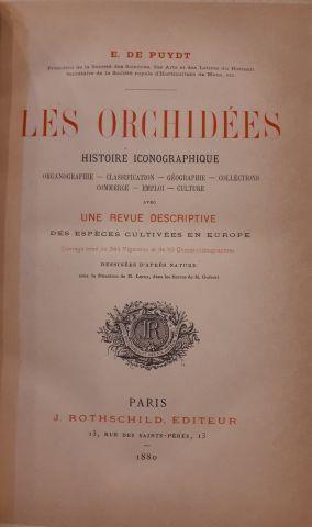 PUYDT. Les orchidées. 1880. Mauvais état...