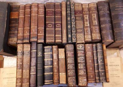 [MEDECINE] Important ensemble de livres reliés...