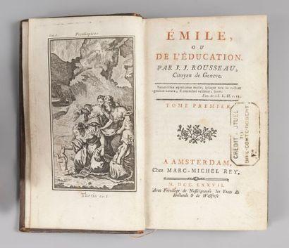 Jean-Jacques ROUSSEAU. Émile, ou De l'Éducation....