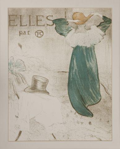 Henri de TOULOUSE-LAUTREC. Elles. Texte de...