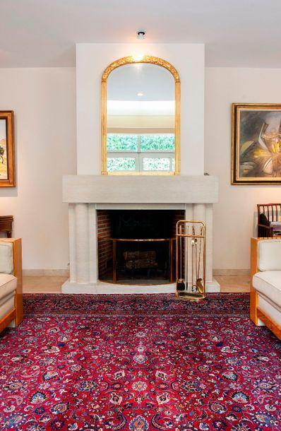Grand tapis Meched en laine. 500 x 350 cm.