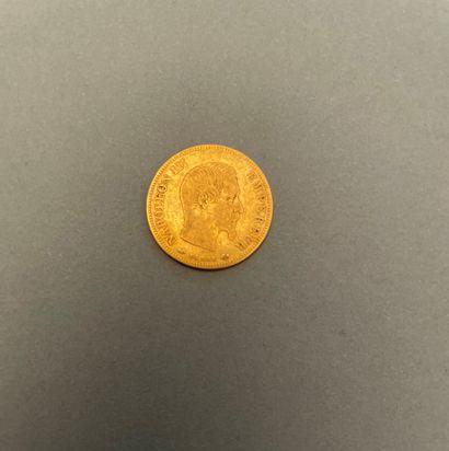 SECOND EMPIRE  Monnaie de 10 Francs en or,...