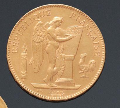 TROISIÈME RÉPUBLIQUE  Monnaie de 50 Francs...