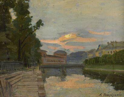 Anna P. OSTROOUMOVA-LEBEDEVA (St. Pétersbourg 1871-1955 Léningrad)