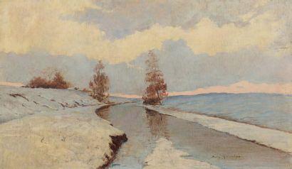 Boris KALININE (École RUSSE XXe siècle)