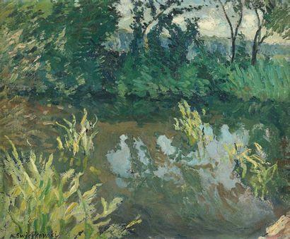 Alfred SWIEYKOWSKI (Paris 1869-1953 Paris)