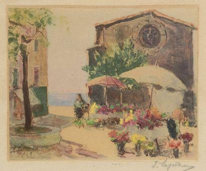 Georges LAPCHINE (Moscou 1885-1950 Paris)