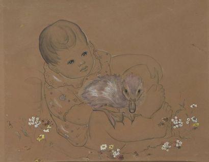 Evguenia HADJI-MINACHE (St.-Pétersbourg 1907-1972 Paris)