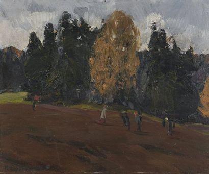 Ivan Vassilievitch SOROKINE (Gouv. De Riazan 1922-2004 Moscou)