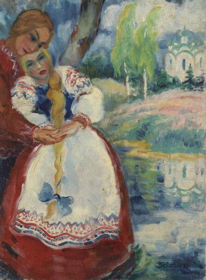 Boris M. BELOOUSSOVITCH (Pinsk 1897-1986 Paris)
